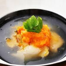 regional cuisine ichigo ni sea urchin and abalone soup regional cuisine of aomori