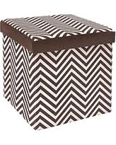 Microsuede Storage Ottoman Spectacular Deal On The Fhe Group Round Folding Storage Ottoman