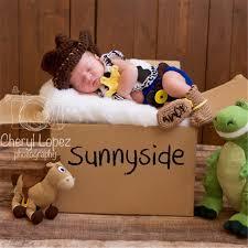 baby boy photo props aliexpress buy crochet newborn baby cowboy baby boy