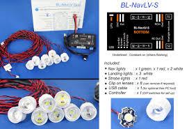 rc navigation led lights