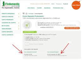 findomestic spa sede legale conto deposito di findomestic cap iii archivio pagina