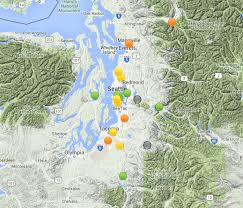 Portland Air Quality Map by Cliff Mass Weather And Climate Blog Offshore Flow Eastern