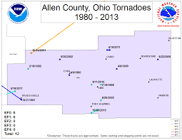 Fort Wayne Zip Code Map by Tornado Information Page