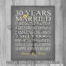 40 year anniversary gift 30th anniversary gift pearl anniversary personalized 30th