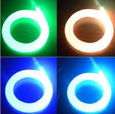fiber optic light strands 2018 0 75mm 2meters end glow fiber optic cable plastic optical
