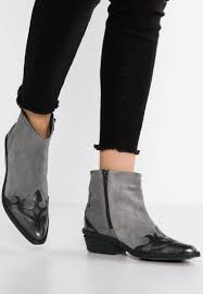 buy womens biker boots bronx cowboy biker boots grey black metallic women buy bronx shoes