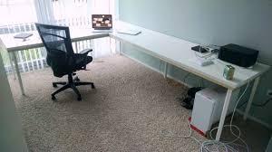 l shaped computer desk ikea 6 ikea l shaped desks to boost productivity ikea hackers with l