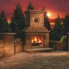 Livingroom Images Wood Burning Outdoor Fireplace