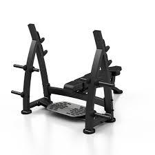 Straight Bench Press Olympic Flat Bench Press With Racks 644 00 Fitness U0026 Gym