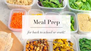 how to meal prep for beginners easy recipe plan ann le youtube