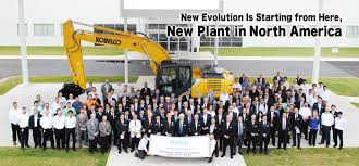 kobelco construction machinery global website
