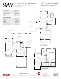 505 ventura crescent north vancouver virtual tour u0026 floor plan