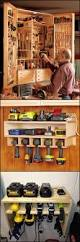 if you need clever ideas on how to organize and store the tools in