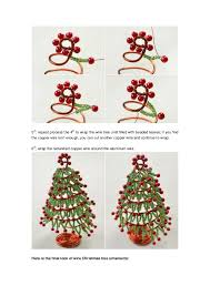 how to make tree ornament for desk decoration