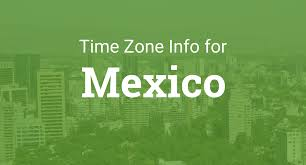 Pacific Time Zone Map Time Zones In Mexico