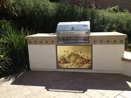 outdoor kitchen kiln fired tile mural tile mural creative arts