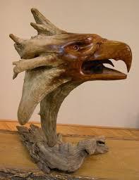 cedar wood sculpture gbeaglelrg jpg 332 432 wood carving and sculpture