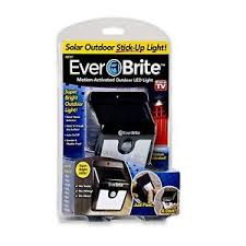 everbright solar light reviews ever brite outdoor motion activated solar power led light as seen on