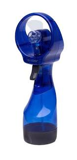 water bottle misting fan deluxe personal misting fan hand held battery operated fans and