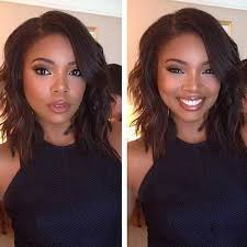 bob haircuts black hair wet and wavy 7a lace front wigs silky straight 100 human hair wet and wavy