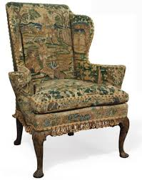 Outdoor Wingback Chair Antique Style 18th Century George Iii Wingback Chair Upholstering