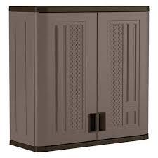 suncast wall storage cabinet platinum suncast bmc3000 storage cabinet 30inwx12indx30inh ebay