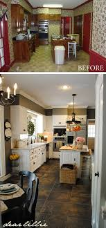 how to modernize a small kitchen before and after 25 budget friendly kitchen makeover ideas