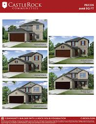 pecos cobalt home plan by castlerock communities in cantarra