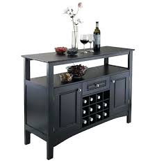 wine rack dining display storage buffet server wine rack drawer