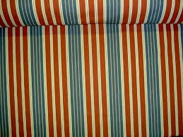 additional pictures of braemore fabrics pattern harbour stripe