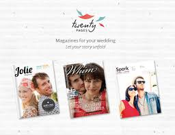 create your own wedding album create your own wedding magazine with twenty pages