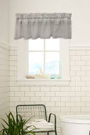 Shower Curtain And Valance Absolute Geneva Fabric Shower Curtain With Matching Tailored