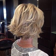 bob hair cut over 50 back 90 classy and simple short hairstyles for women over 50 blonde