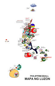 Map Of Phillipines Polandball Map Of The Philippines Luzon Countryballs