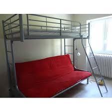 lit en hauteur avec canapé lit mezzanine canapé tete de lit pour futon el bodegon