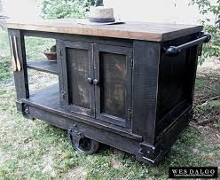 rustic kitchen islands for sale modern rustic kitchen island cart with walnut stained butcher