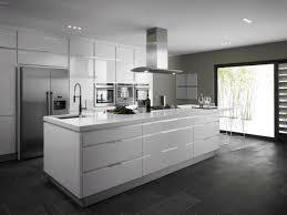 black and white kitchens pictures glossy black backsplash raw