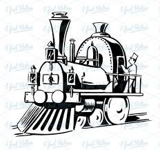 steam locomotive clipart 49