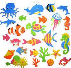 sea creatures foam stickers seasonal craft supplies