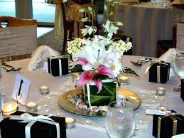 simple table decorations for christmas party simple table decorations inexpensive wedding reception decoration