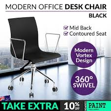White Student Desk Chair by Room White Modern And Ergonomic Study Chair Stylish Home Office