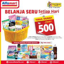 Minyak Goreng Tropical Di Alfamart tebus murah cuma rp 500 tiap belanja produk sponsor rp 100rb di