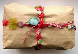 Gift Wrapping How To - bugs and fishes by lupin gift wrapping the joy of kraft paper