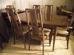 High Back Dining Room Chairs by Brown Wooden Chairs With High Back Also Cream Seat Combined With