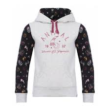 girls u0027 jumpers u0026 hoodies full zip crews u0026 sweats animal