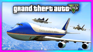 air force one interior gta 5 air force one 747 jumbo jet gameplay with interior