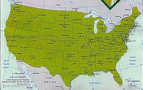 map of usa with compass maps us map compass