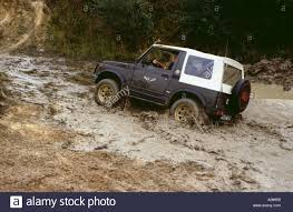 jeep water small jeep suzuki crossing mud and water bad road conditions off