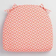 coral geometric cadiz outdoor chair cushion world market