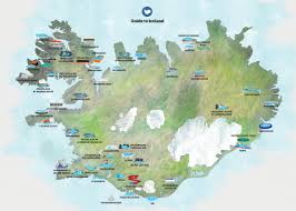iceland map maps of iceland guide to iceland